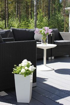 All you need is White Outdoor Sectional, Sectional Sofa, Outdoor Furniture Sets, Outdoor Decor, All You Need Is, Balcony, Terrace, Sweet Home, Patio