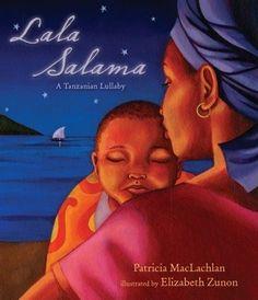 Lala Salama: A Tanzanian Lullaby  such sweet baby wearing book!!!!