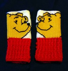 Check out this item in my Etsy shop https://www.etsy.com/listing/488553432/fingerless-gloves-wrist-warmers-pooh