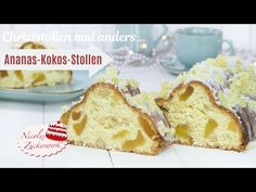 Stollen Recipe, French Toast, Muffin, Breakfast, Youtube, Recipes, Food, Pineapple Coconut, Sugar