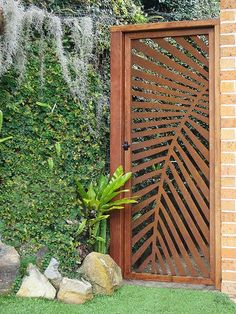 this is steel, but I don& see why you couldn& do this with exterior gr. - DOORS seen as amazing Art - this is steel, but I don& see why you couldn& do this with exterior grade plywood… le -