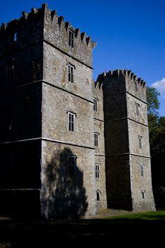 Kanturk Castle, County Cork, Ireland - built 1609