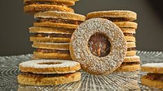 Tasting Table's Linzer Piggy Cookies - Get the recipe here: http://abcn.ws/1gUaxHj