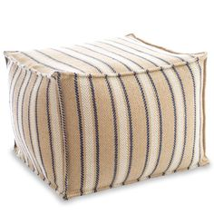 Cambridge Indoor/Outdoor Pouf Ottoman