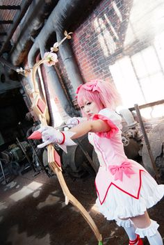 Madoka #cosplay #costume from Puella Magi Madoka Magica by MissAnsa.deviantart.com on @deviantART