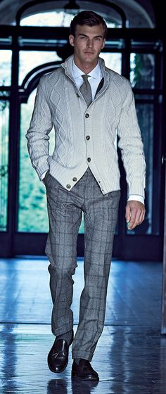 Pal Zileri Autunno Inverno 2014 2015 | Men's Fashion | Menswear | Men's Outfit for the Office | Moda Masculina | Shop at designerclothingfans.com