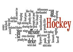 Hockey 16x20 Print Poster Print by customthings on Etsy, $16.95