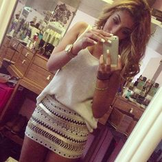 Love everything except the short skirt