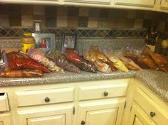 Bulk freezer cooking... For the crockpot! - looks like the best variety of meats. -e.u.
