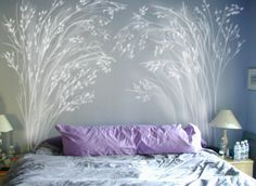 DIY headboard ideas that aren't (technically) supposed to be headboards