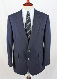 Hart Schaffner Marx Jack Nicklaus Golden Bear from Blazer Sport Coat size 44 R #JackNicklaus #TwoButton