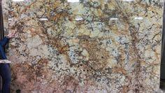 Havana granite island top  our  slab
