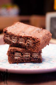 Brownie aux Kit Kat | Piratage Culinaire