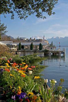 Montreux, Switzerland- whit #SwissPrestigeLimousine info@swissprestigelimousine.ch