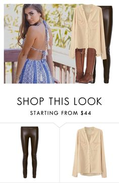 """ootd"" by avagraceeeee ❤ liked on Polyvore featuring The Row and Naturalizer"