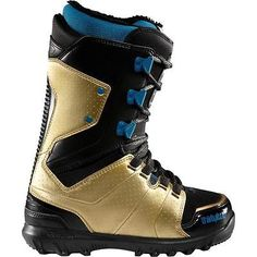 #*nib*thirtytwo lashed lace #women's snowboard boot*mfr #black/gold*size us…