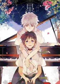 Kaworu & Shinji   Evangelion #anime