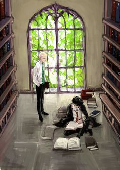 Drarry-lib by zziikk.deviantart.com on @deviantART