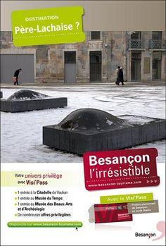"""Détournement de feue la campagne """"Besançon l'irrésistible"""""""