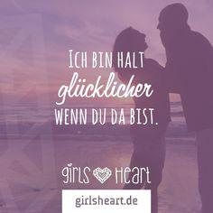 sprüche glücklich verliebt Mehr Sprüche auf: .girlsheart.de #liebe #partner #freund  sprüche glücklich verliebt