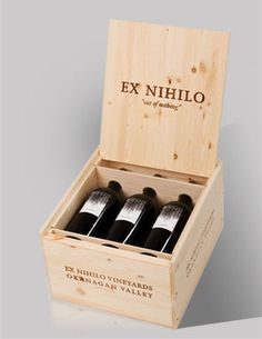 ExNihilo Vineyards is one of our Wine Guard Retailers. we love the unique wines of the Okanagan! Wine Bottles, Wine Rack, Wines, Vineyard, Unique, Recipes, Wine Bottle Glasses, Vine Yard, Recipies