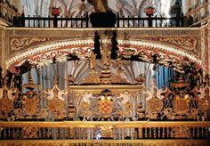 Reja del coro. Catedral de Palencia