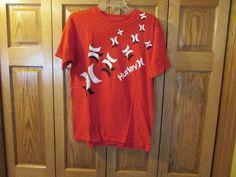 HURLEY MEN'S T-SHIRT, RED COLOR, SIZE MEIUM #HURLEY #TSHIRT. eBay item number:131898992025