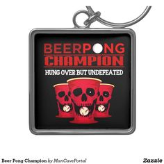 Beer Pong Champion Keychain Beer Pong Tables, Cornhole Set, Custom Buttons, Key Chains, Christmas Card Holders, Portal, Keep It Cleaner, Colorful Backgrounds, Holiday Cards