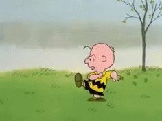 Charlie Brown - Football GIF - Football - Discover & Share GIFs