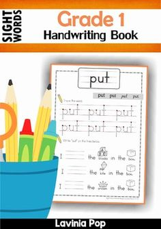 Sight Words Handwriting Book (Grade 1). A fun way to practice reading sight words in context.