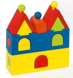 1st Birthday Present - GOKI - Stacking Castle