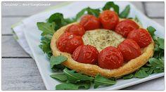 Tartelettes Chèvre Tomate