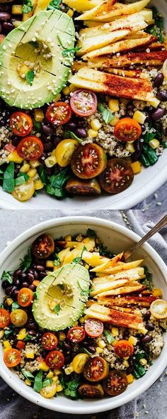 Chili Mango Zesty Quinoa Salad This Summertime Salad Is Perfect For Eating By The Pool Or Taking To Work Refreshing, Gluten-Free, And Vegan Posted By: Zesty Quinoa Salad, Quinoa Salat, Mango Salad, Protein Salad, Quinoa Chili, Ham Salad, Pasta Salad, Whole Food Recipes, Dinner Recipes