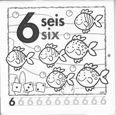 Fichas de Inglés para niños: Fichas de números en inglés