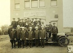 Hopelawn Engine Co. #1 c. 1930, my grandfather Lawrence Clement is center of the engine. Three generations served with the Hopelawn Fire Dept. It was my privledge to serve with the Hopelawn Engine Co 1, First Aid Squad c. 1979