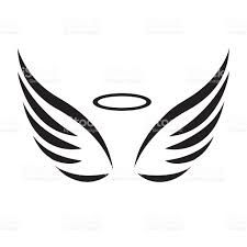 angel wings stock illustrations 4840 angel wings clip art images rh pinterest com angel wings clip art free angel wings clip art for memorial