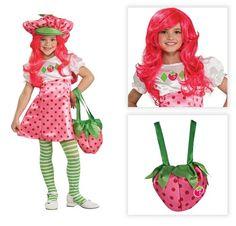 Strawberry Shortcake Deluxe Child Costume Hat « Clothing Impulse  sc 1 st  Pinterest & 15 best Strawberry Shortcake Costume Ideas images on Pinterest ...