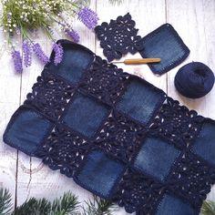Crochet Yoke, Crochet Fabric, Freeform Crochet, Crochet Blouse, Crochet Stitches, Crochet Square Patterns, Knitting Patterns, Crochet Carpet, Crochet Fashion