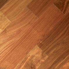 "Albero Valley Imperial 4-3/4"" Engineered Santos Mahogany Hardwood Flooring in Santos Mahogany"