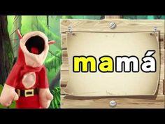 3 Sílabas ma me mi mo mu El Mono Sílabo Videos Infantiles Educación para Niñ2 - YouTube