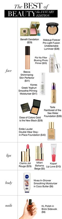Sona Selects: Sona Gasparian's beauty favorites this month! All the best of beauty Beauty Guide, Diy Beauty, Beauty Hacks, Priming Moisturizer, Moisturiser, Basic Makeup, Daily Makeup, Simply Sona, Estee Lauder Double Wear