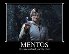 It'll make your breath smell Excellent! Inspired by this: [link] Lee Chaolan Mentos Lee Chaolan, Tekken 7, Nerd Stuff, Anime Guys, Drugs, Breathe, Nerdy, Fandoms, Deviantart