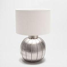 METAL ROUNDED BASE LAMP
