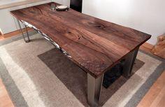 Urban Hardwoods® San Francisco, black walnut dining table