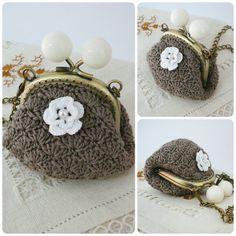 PATTERN Crochet Coin Purse Model nº 7 van PitusasyPetetes op Etsy