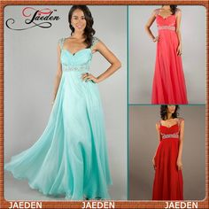 HE011 Free Shipping Hot Sale Cap Sleeve A-line Floor Length Empire Jeweled Long Prom Evening Dress 2014