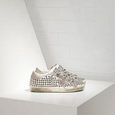94 Women s Super Star in Leather With Suede Star Sale - Golden Goose Deluxe  Brand Sneakers 50 percent off sale online de deportes online 79fbaa014bee