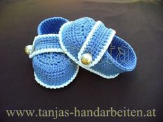 Looking for crocheting project inspiration? Check out Baby Booties by member Tanja. - via @Craftsy