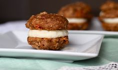 Carrot Cake Cookie Sandwiches from http://www.yourcupofcake.com/2011/12/carrot-cake-cookie-sandwiches.html