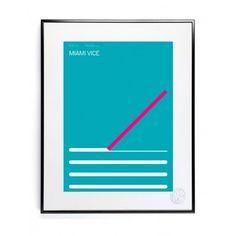 Miami Vice Print